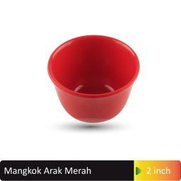 mangkok arak merah 2inch