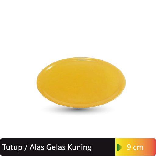 tutup gelas kuning