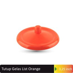tutup gelas list orange