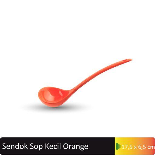 sendok sop kecli orange