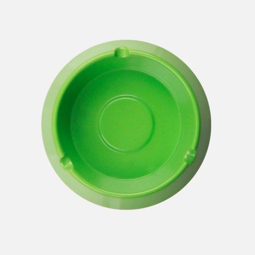 Asbak bulat hijau - 3002 - Glori Melamine