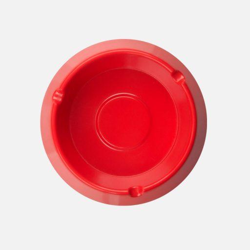 Asbak bulat merah - 3002 - Glori Melamine