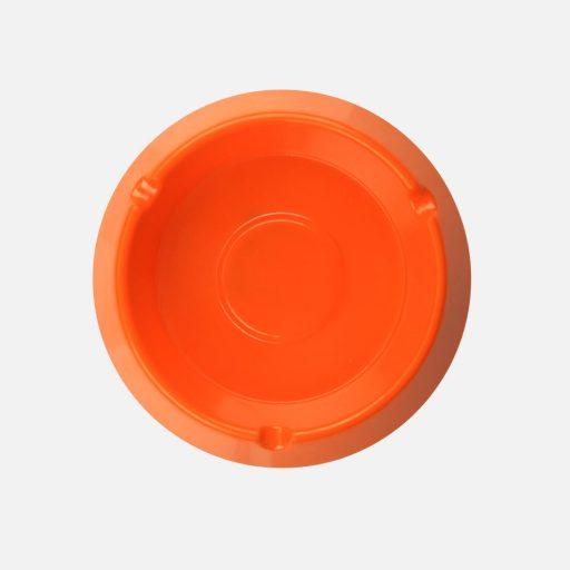 Asbak bulat orange - 3002 - Glori Melamine