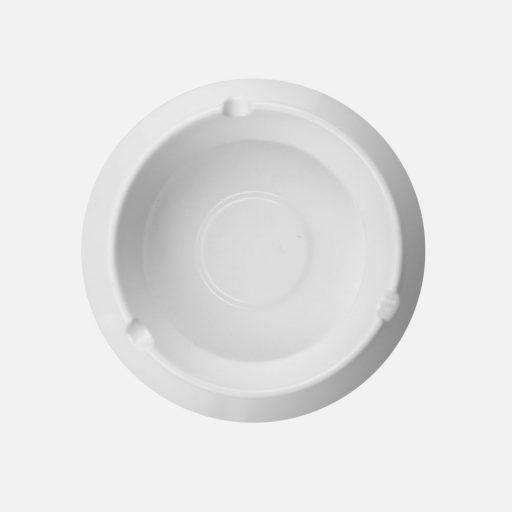 Asbak bulat putih - 3002 - Glori Melamine