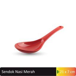 sendok nasi merah