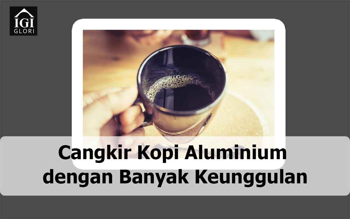cangkir kopi aluminium