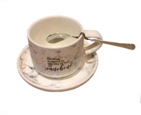 cangkir kopi keramik model abstrak