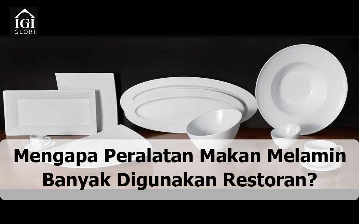 Peralatan Makan Melamin restoran