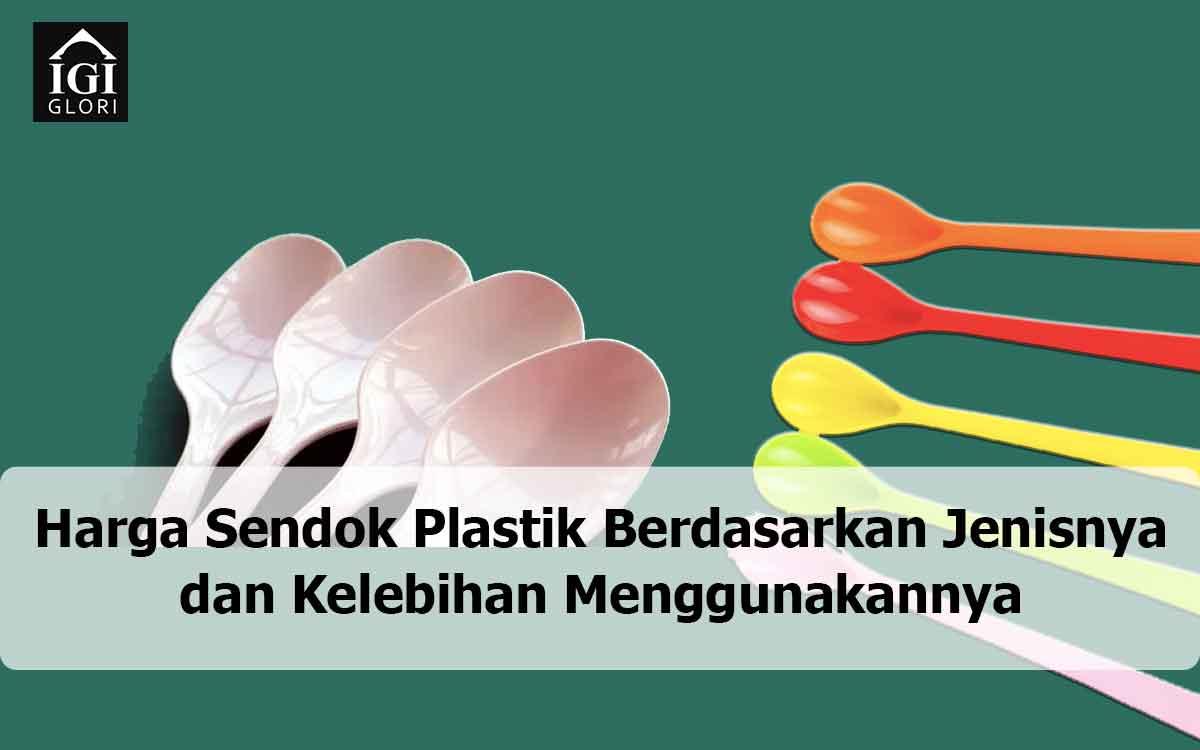 harga sendok plastik