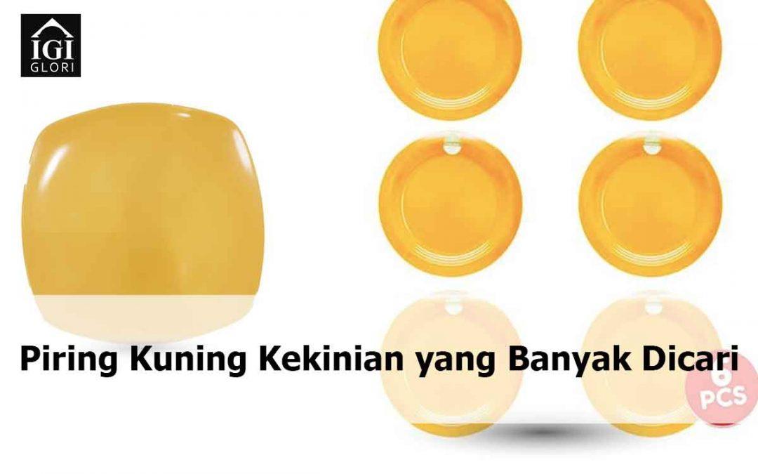 Piring Kuning Kekinian yang Banyak Dicari