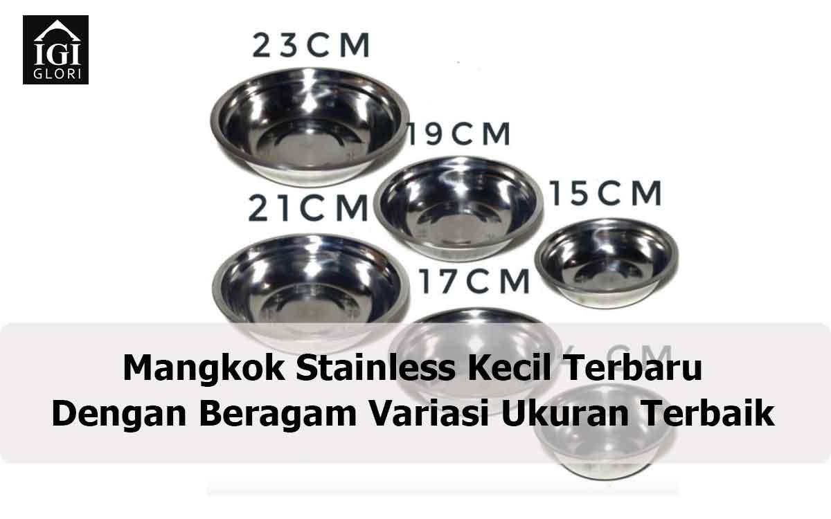 Mangkok Stainless Kecil