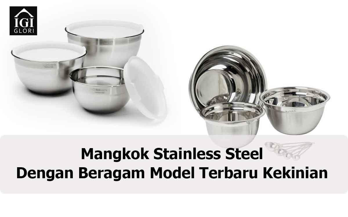 Mangkok Stainless Steel dengan Beragam
