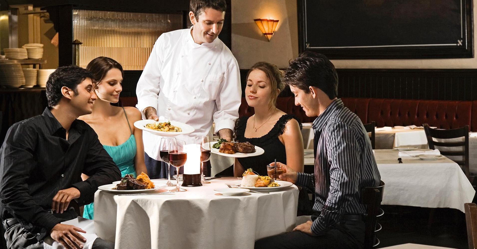 3 Macam Ciri Khas Penyajian Makanan & Minuman di Restoran