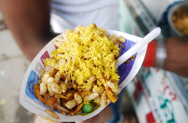 3. Bhel Puri di Mumbai