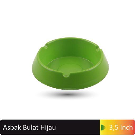 asbak bulat hijau