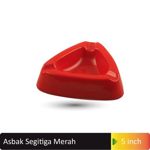 asbak segitiga merah