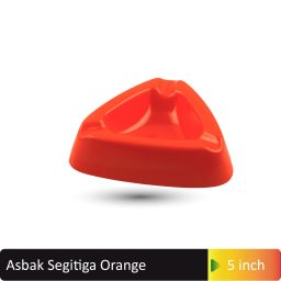 asbak segitiga orange