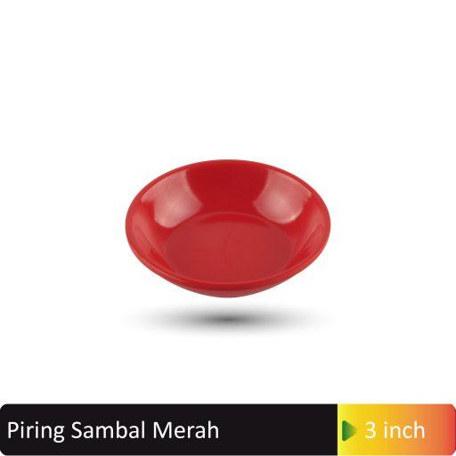 piring sambal merah