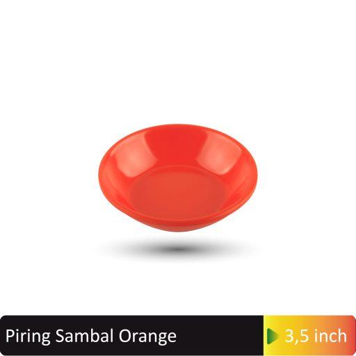 piring sambal orange