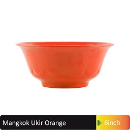 mangkok ukir orange