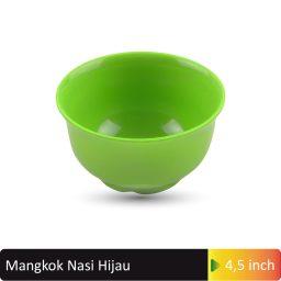 mangkok nasi hijau