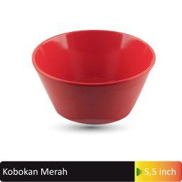 mangkok kobokan merah 5,5inch