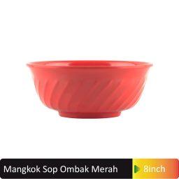 mangkok sop ombak merah
