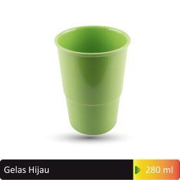 gelas hijau