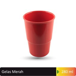 gelas merah