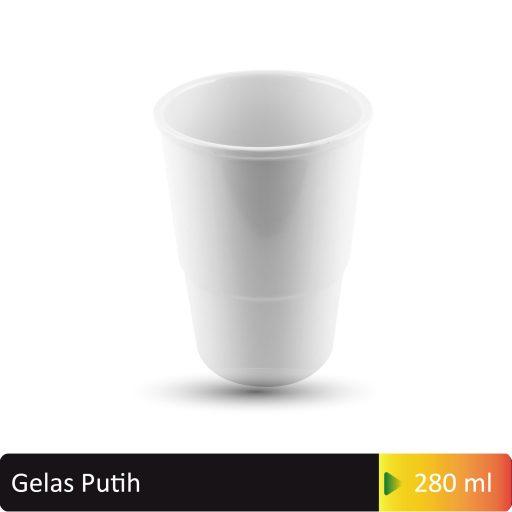 gelas putih