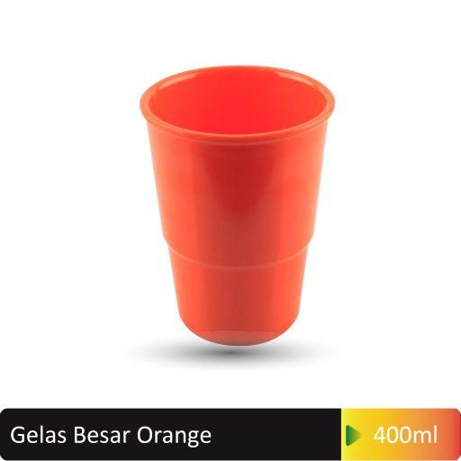 gelas besar orange