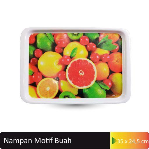 nampan motif buah