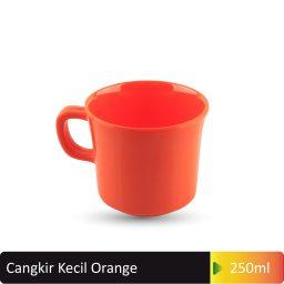 cangkir kecil orange