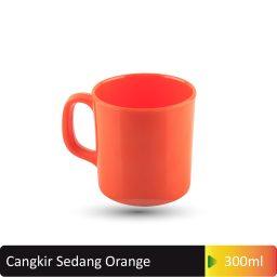 cangkir sedang orange