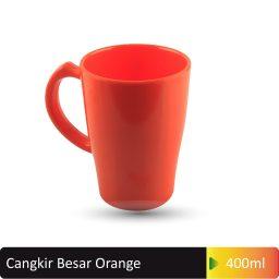 cangkir besar orange