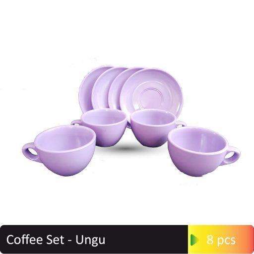 Coffee Set ungu