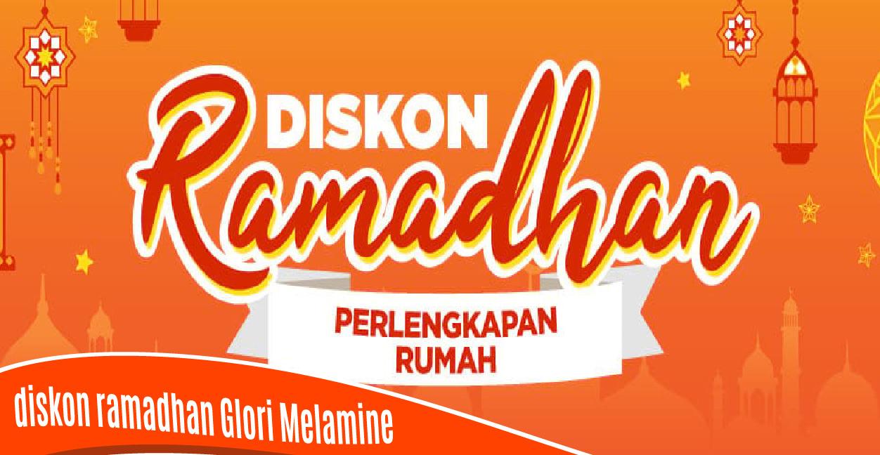 Diskon Ramadhan 14-20 Mei 2018 Glori Melamine Official Brand di Shopee sebesar 60% Semua Produk