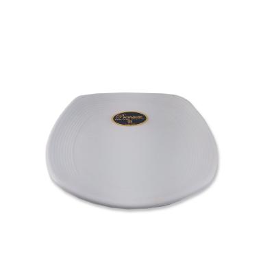 Piring Ceper Segi Empat Ulir 6 inch G2406PTH Glori-Melamine