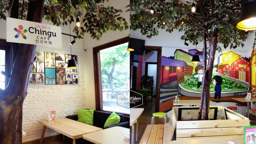 Kuliner Bandung - Chingu Fan Cafe di Bandung