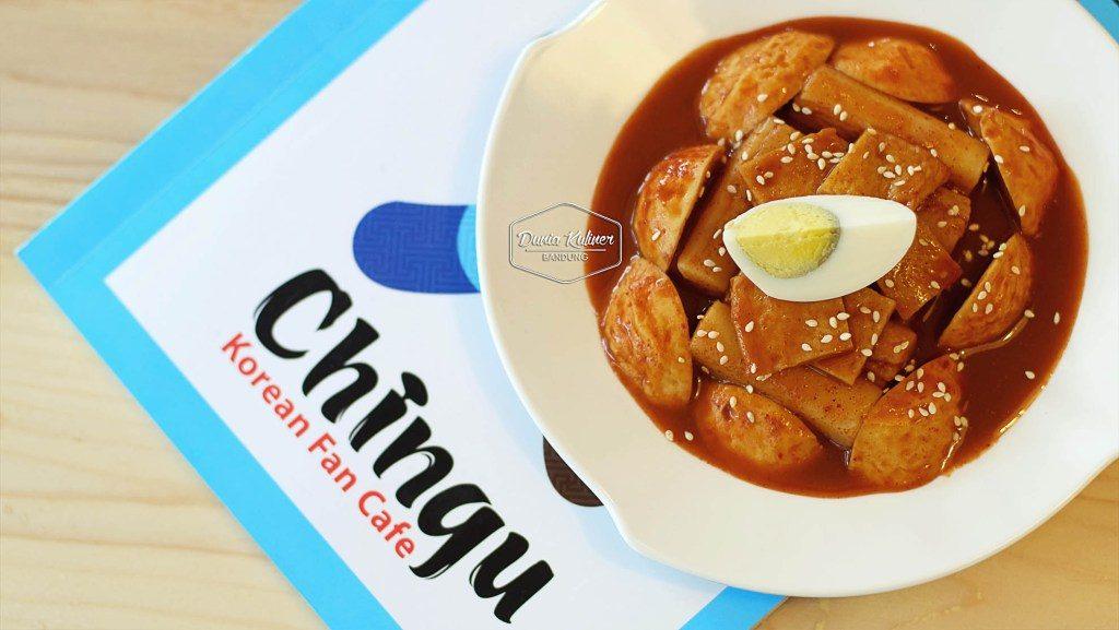 Kuliner Bandung - Chingu Fan Cafe di Bandung 7