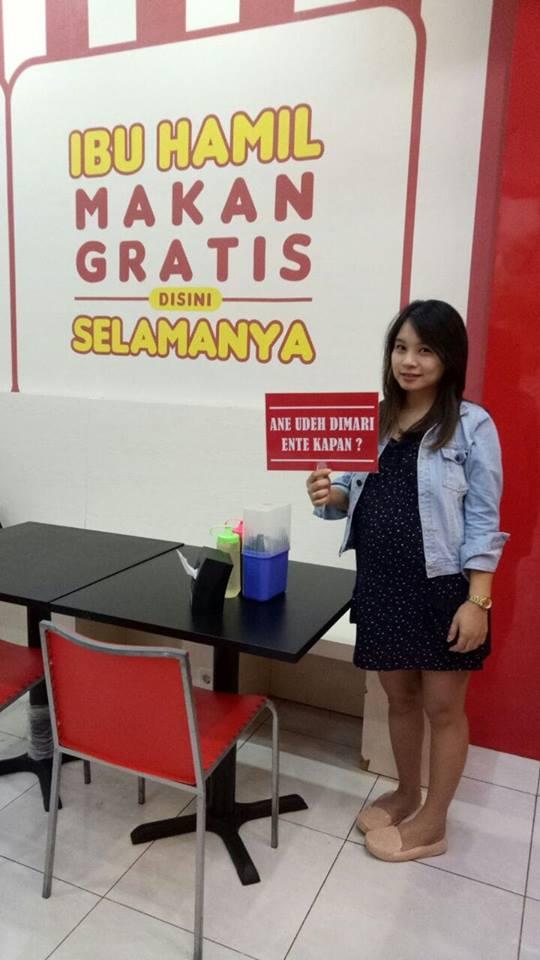 Makan Gratis Bakso Bom untuk Ibu Hamil