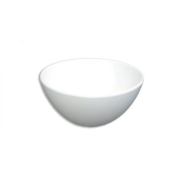 Mangkok Nasi Oriental 5 Inch Putih - Glori Melamine GY132 PTH