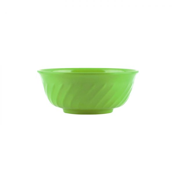 Mangkok Sop Ombak 6 inch Hijau