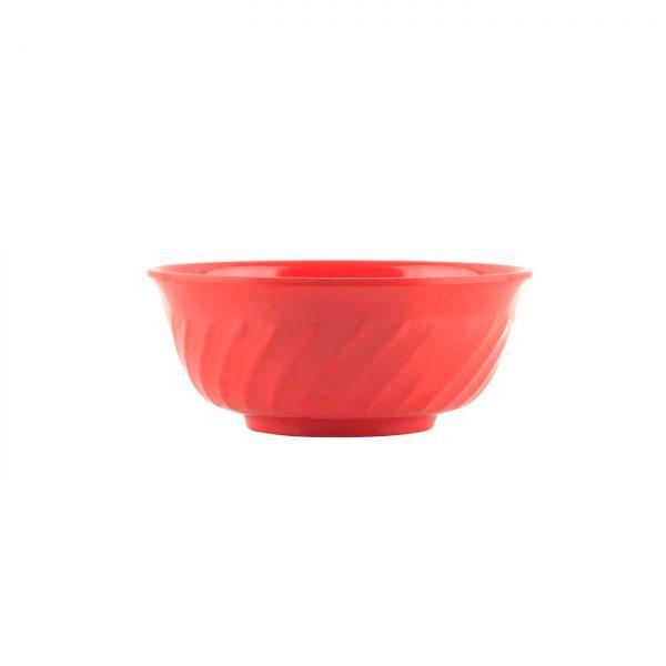 Mangkok Sop Ombak 6 inch Merah