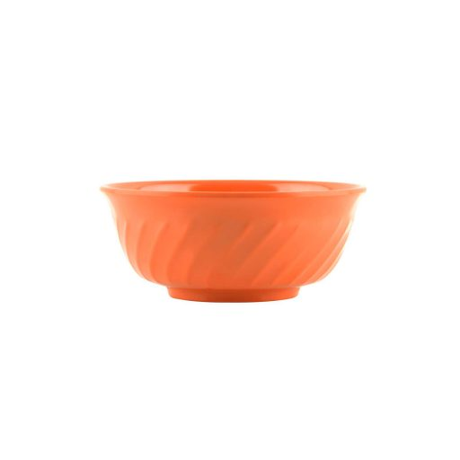 Mangkok Sop Ombak 6 inch Orange