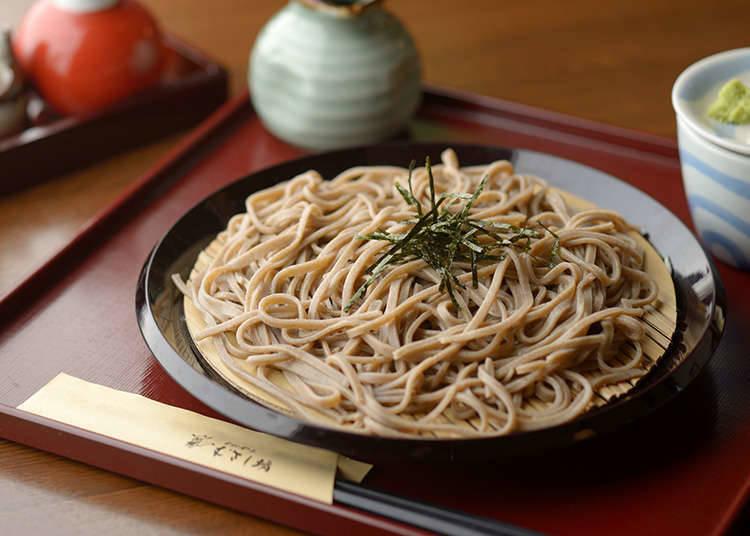Mie SOBA, Masakan Khas Orang Tokyo Jepang Asli, Enak dimakan baik Dingin maupun Panas
