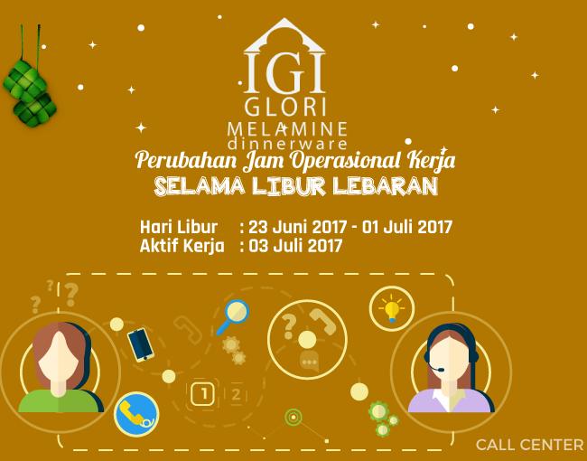 Offline-Glorimelamine selama libur lebaran