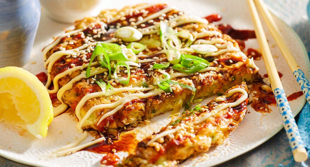 Okonomiyaki ! Saus Manis Pedas Asli Jepang UEenak Banget!