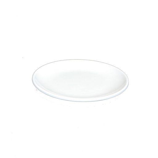 Piring Ceper Oriental 6 Inch Putih - Glori Melamine GYA006 PTH