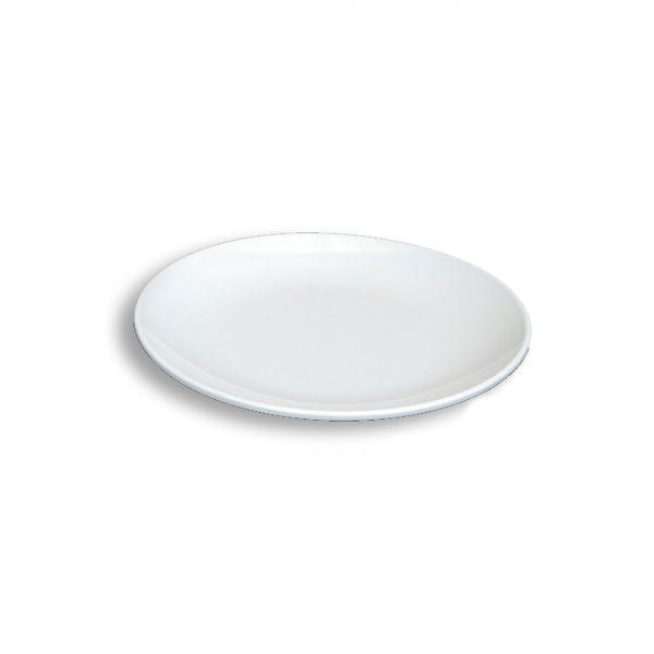 Piring Makan Oriental 10 inch Putih